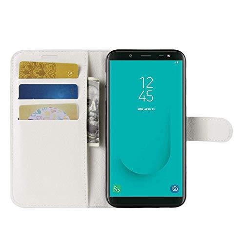 HualuBro Huawei P40 Pro Plus Hülle, Premium PU Leder Stoßfest Klapphülle Schutzhülle HandyHülle Handytasche Wallet Flip Hülle Cover für Huawei P40 Pro+ Plus 5G Tasche (Weiß)