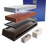 DALSTRONG Premium Whetstones - #1000/#6000 Kit - Extra Large Grit Stones - Top-Grade Corundum - Thick - Ultra-Durable