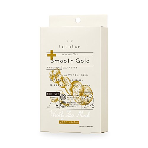 Lululun Plus Mask Smooth Gold
