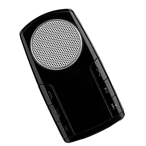 balikha Transmisor FM Adaptador para automóvil Reproductor de MP3 para automóvil Altavoz con Pantalla de 1.4 '' Puerto USB para teléfono con micrófono