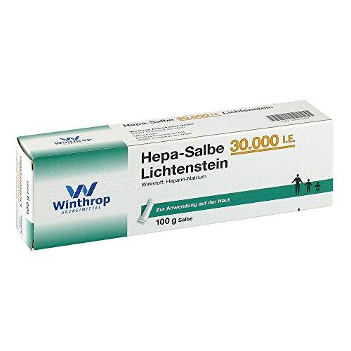 HEPA SALBE 30.000 I.E. Lichtenstein 100 g