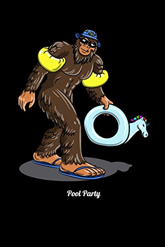 Pool Party: Fishing Log Book And Journal For A Fisherman Or For Kids To Record Fishing Trips And Experiences of e.g. Bass Fishing Or Fly Fishing (6 x 9; 120 Pages)