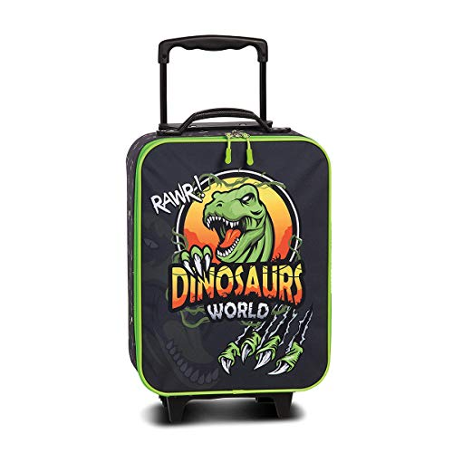 Fabrizio Dinosaurs World Kindertrolley Kabinen Kinderkoffer Kindergepäck Dino T-Rex 20582-1700