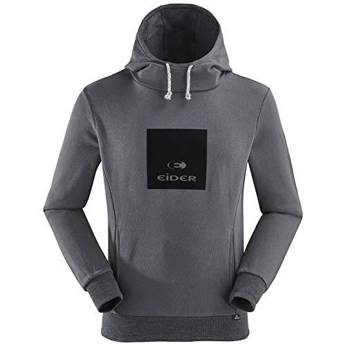 Eider - Sweat Capuche Yulton Homme XL - Noir