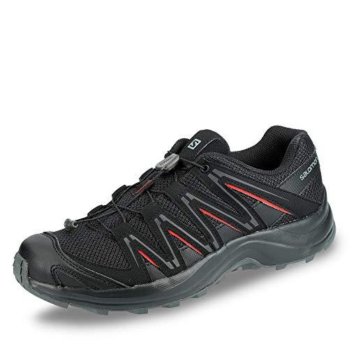 Salomon Men's XA Kuban Trail Running Shoe, black/black/bossa nova, 12 Standard US Width US