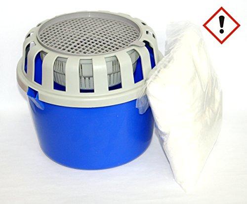 Entfeuchter-Box inkl. 2 x 1 kg Luftentfeuchter-Granulat Raumentfeuchter lose
