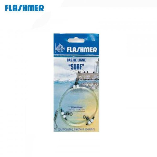 Flashmer–Bajo de línea Surf con 2emerillones...