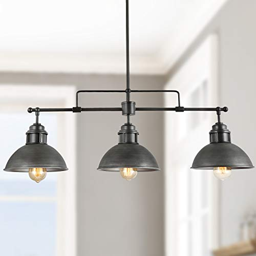 Black Kitchen Pendant Linear Chandelier