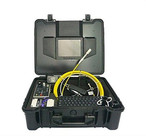 GOWE 512Hz transmisor de agua pozo chimenea 20m cable de fibra óptica cámara de inspección Tamaño del sensor: 1/4 pulgadas; Resolución horizontal: 420TVL; Sistema de señal: PAL.