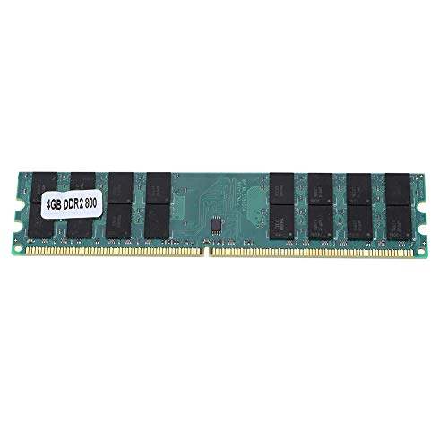 4GB DDR2-RAM 800MHZ Arbeitsspeicher RAM 4GB DDR2 800MHZ, Desktop-RAM-Speichermodul Superschnelle Datenübertragung 240 PIN RAM DDR2 4 GB Entwickelt für AMD, DDR2-Speicher für PC2-6400 Desktop-Computer