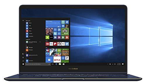 Asus ZenBook Flip UX370UA-C4195T Ultrabook Convertibile, Display da 13.3', Processore I7-8550U, 1.8 GHz, SSD da 512 GB, 16 GB di RAM, Royal Blue [Layout Italiano]