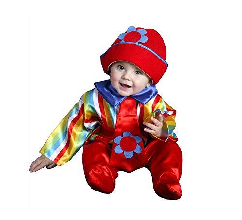 Disfraz de Payaso bebé 6-12 meses para bebé