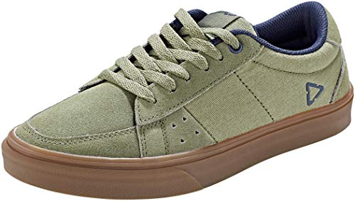 Leatt Chaussures 1.0 Flat, Zapatillas de Ciclismo de montaña Unisex Adulto, Vert Cactus, 44.5 EU
