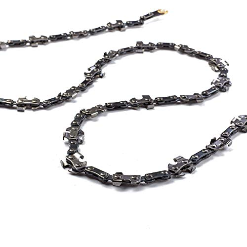 Kutir 48 Inch High Reach Tree Limb Hand Rope Chain Saw - Cuts Branches Easily, Blades on Both Sides so it Doesn't Matter How it Lands - Comes with Ropes, Throwing Weight Pouch Bag - Best for Camping