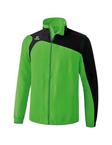 erima Kinder Jacke Mit Abnehmbaren Ärmeln Club 1900 2.0 Jacke mit abnehmbaren Ärmeln, green/schwarz, 164, 1060705