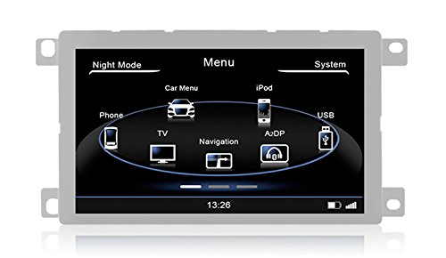 Dynavin n6-a5Multimedia/Navigation factory-fit Stil/Bluetooth/IPOD/GPS/USB Touchscreen Head Unit Audi A5(2007–2014) + A4/Q5(2008–2014)