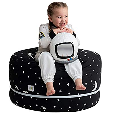 """2 Sizes in 1 Large Bean bag Stuffed Animal Storage 