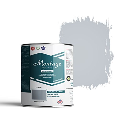Montage Signature Interior/Exterior Eco-Friendly Paint, Twilight - Low Sheen, 1 Gallon