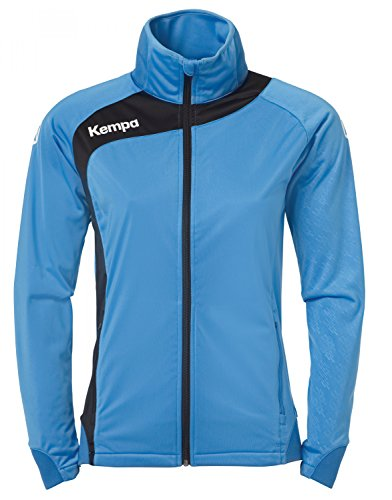 Kempa Damen Bekleidung teamsport peak multi jacke, mehrfarbig (kempablau/Schwarz), L