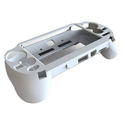 L2 R2 Trigger Hand Grip Shell Controller Protective Case for Sony Playstation PS Vita 1000 (White)