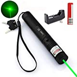 10. High-Power Multi-Functional Green Pointer Tactical Hunting Sight Outdoor Recreational Camping Outdoor Hiking LED Flashlight Handheld flashlights