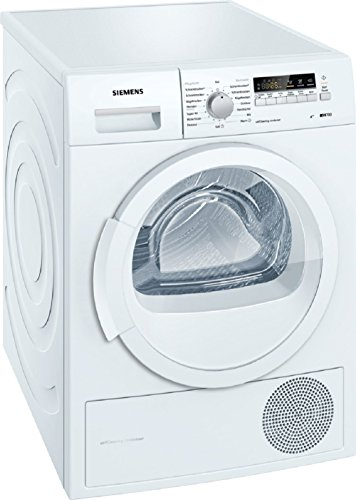 Siemens iQ700 WT46W261 Wärmepumpentrockner/A++/8 kg/Selbstreinigender Kondensator/Schontrommel/40-Minuten Trockenprogramm