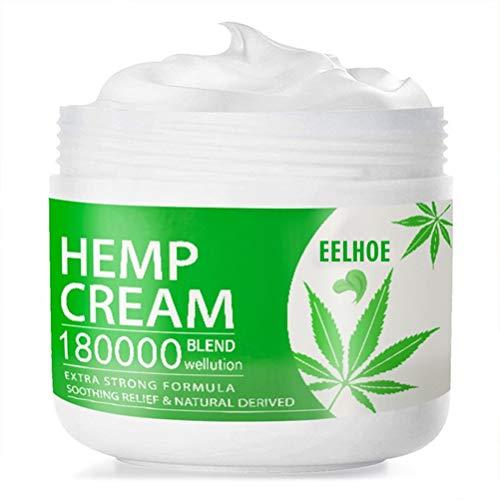 Hemp Cream, Hemp Healing Cream, Natural Hemp Extract, Reduces Signs of Aging, Stretch Marks, Scars