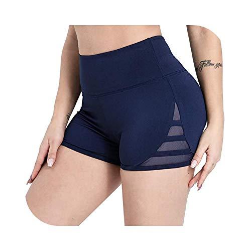 Shop1994 Shorts Women Sexy Gym Fitness Workout Mesh High Waist Push Up Lady Casual Stretch Sports-BU-XL