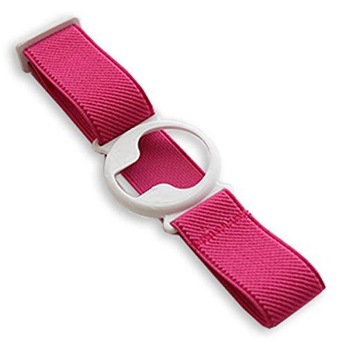 Enlite Fixierband: Weiß (Flexibel/Sensitiv) | Diasticker® (Small: 18-25 cm, Pink)