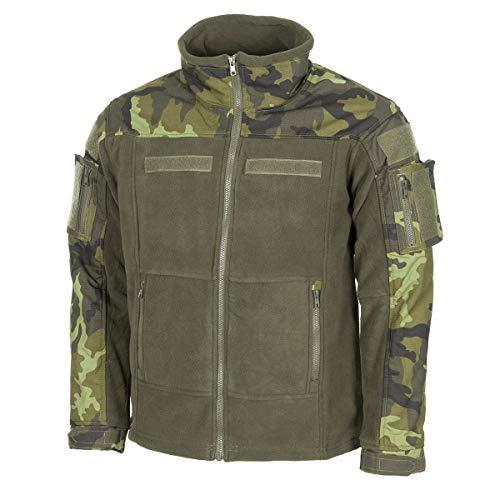 MFH 03811 Combat - Chaqueta de forro polar, Otoño-Invierno, Hombre, color M 95 Cz camuflaje., tamaño M