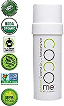 100% Organic & Pure Moisturizer for Skin - Dermatologist Recommended. Coconut Oil Anti-Aging Beeswax For Very Dry Skin, Stretch Marks, Anti Wrinkle, Bodystick. No Chemicals, Fillers, or Preservatives