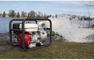 NorthStar Self-Priming Semi-Trash Water Pump - 4in. Ports, 23,040 GPH, 3/4in. Solids Capacity, 270cc Honda GX270 Engine