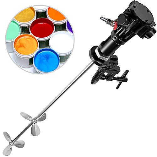 VEVOR Mezclador Neumático Mezclador de Pintura de Perforación, de 50 Galones, 200L Mezclador de pintura Recubrimiento para Agitar la Pintura
