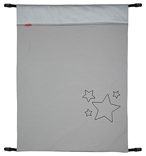 ByBoom - Baby Softshell Decke 70x100 cm Frühling, Sommer, Herbst - Thermo Aktiv für Kinderwagen, Buggy, Jogger, Farbe:Grau/Grau