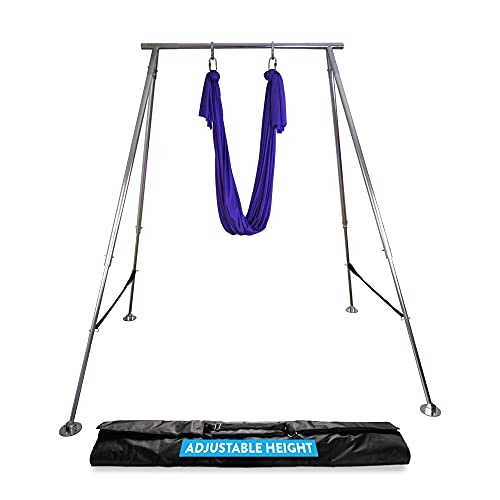 Uplift Active Adjustable Yoga Aerial Rig - Only Premium Home Yoga...