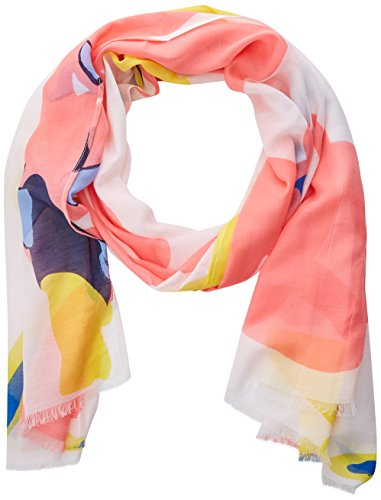 s.Oliver 39.805.91.4501 Chal, Pink (Vintage Rose Placed Print 43d2), Talla única para...