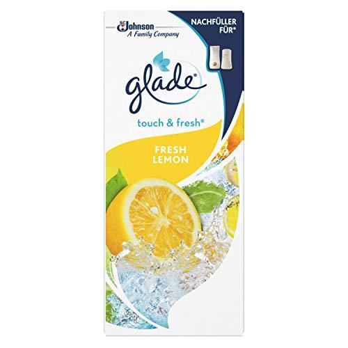 Glade Touch & Fresh (Brise One Touch) Nachfüller, Lufterfrischer Minispray, Fresh Lemon (Limone), 1er Pack (10 ml)