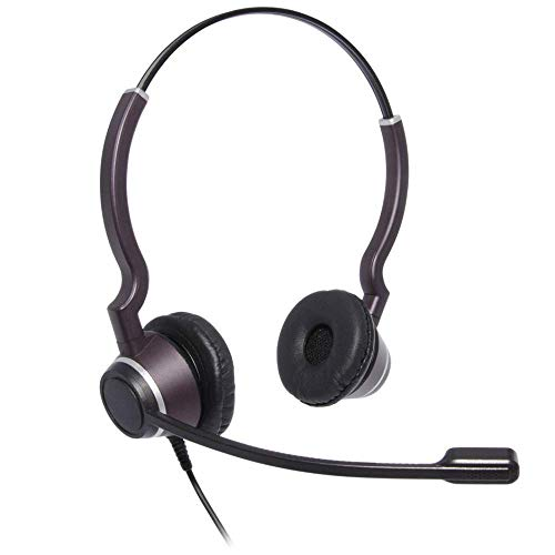 JPL-HAC-2 Binaural Headset with with Telecoil Speaker, Tough Case, and PLX Compatible QD. for Hearing impaired, 575-300-002