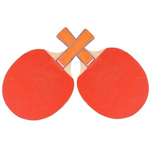 frenma Juego De Tenis De Mesa, Cubierta De Doble Cara, Raqueta De Pong Antideslizante, para Adultos Y Niños, Práctica Y Juego Informal(Juego de Raqueta de Tenis de Mesa)