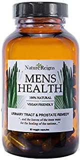 Saw Palmetto Prostate Supplement for Men- with Stinging Nettle, Ashwagandha, Pumpkin Seed Extract - for Urinary, Prostate, and Reproductive Health - 90 Caps