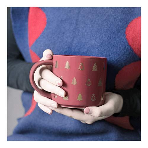 Estilo creativo Lucky Kitty Tazas de té de café con leche de gato con tapa Traje de caja de regalo para niños lindo y decoración de la habitación