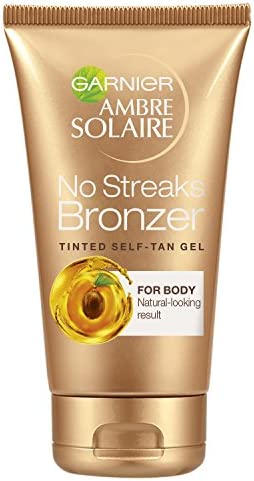 Garnier Ambre Solaire Natural Bronzer Quick Drying Medium Self Tan Body Mist 150ml