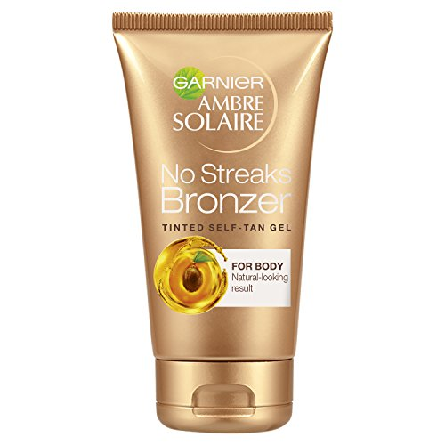Ambre Solaire by Ambre Solaire No Streaks Bronzer Tinted Self-Tan Gel & Golden Shimmer 150ml