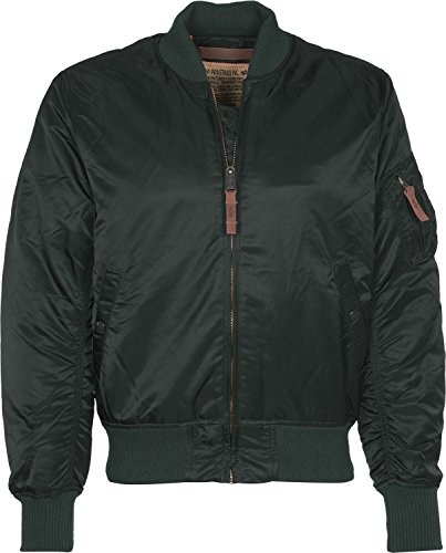 Alpha Industries MA-1 VF 59 Jacke Grün/Blau 3XL