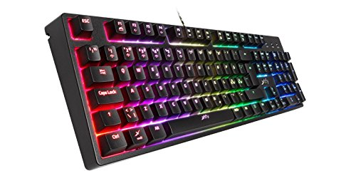 Xtrfy(エクストリファイ)K3-RGB 英語配列 Mem-カニカル(赤軸タイプ)ゲーミングキーボードRGB LEDイルミ...