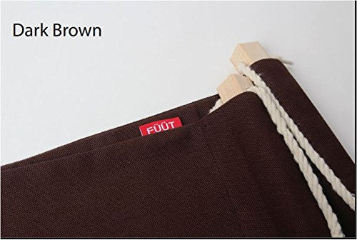 FUUT - Put your foot up on the hammock under the desk comfortable for Your foot Color Dark Brown