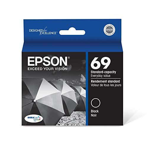 Epson T069120 DURABrite Ultra Black Standard Capacity Cartridge Ink Maine