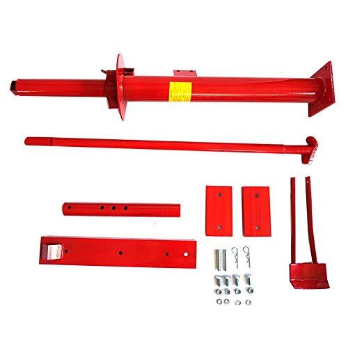 JALAL Reifenmontiergerät, rot Tragbar Manuell Aluminiumlegierung Reifenmontiergerät Kfz-Perlenbrecher