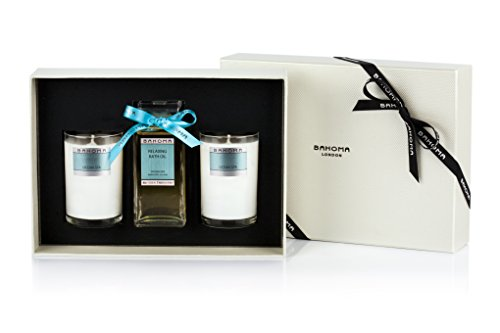 BAHOMA Ocean Spa Thinking of You Bath Oil et Two Treat Candles, 1er Pack (1 x 0,82 kg)