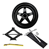 Complete Compact Spare Tire Kit - Fits 2014-2018 BMW X5 (F15) - Modern Spare